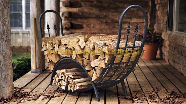 выбор дров для растопки камина
