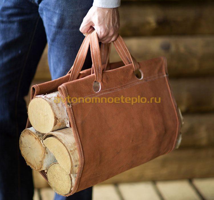 сумка для носки дров