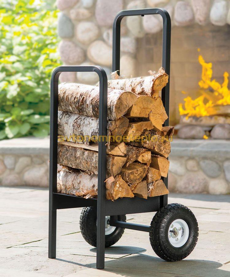 тележка для перевозки дров