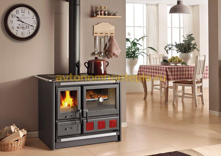 печка с духовым шкафом