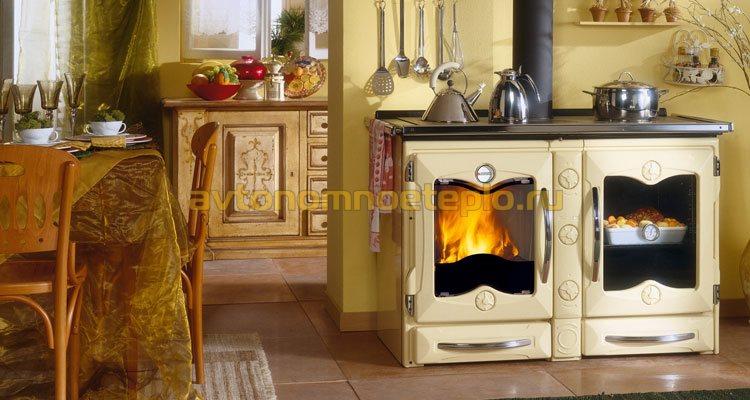 печь в дом для обогрева и приготовления еды