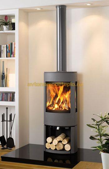 печь для организации радиаторного отопления дома