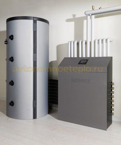 теплоаккумулирующая емкость системы отопления