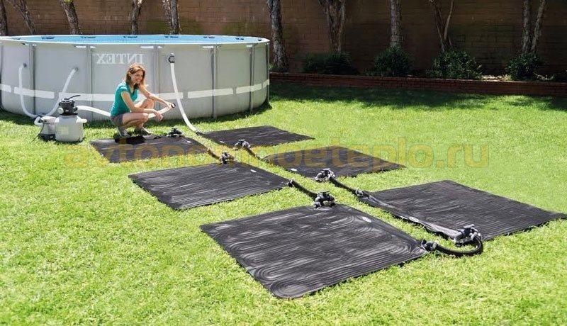 солнечные коллекторы-коврики