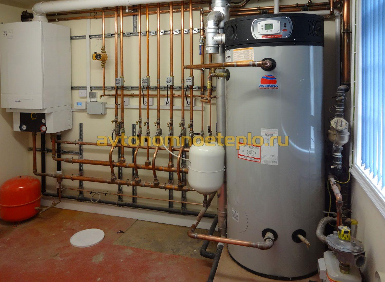 Заправка системы отопления теплоносителем своими руками