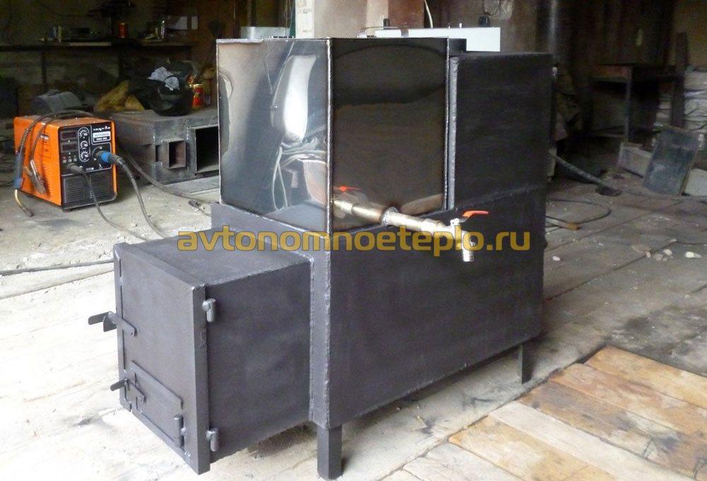 Как сделать метал печь для бани 355