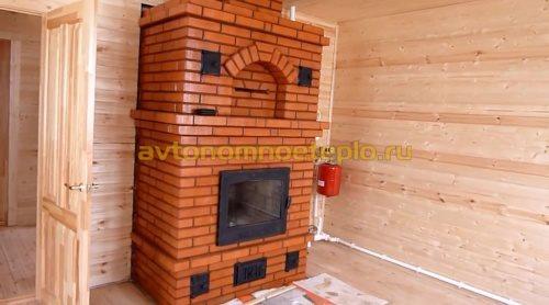 печка с теплообменником