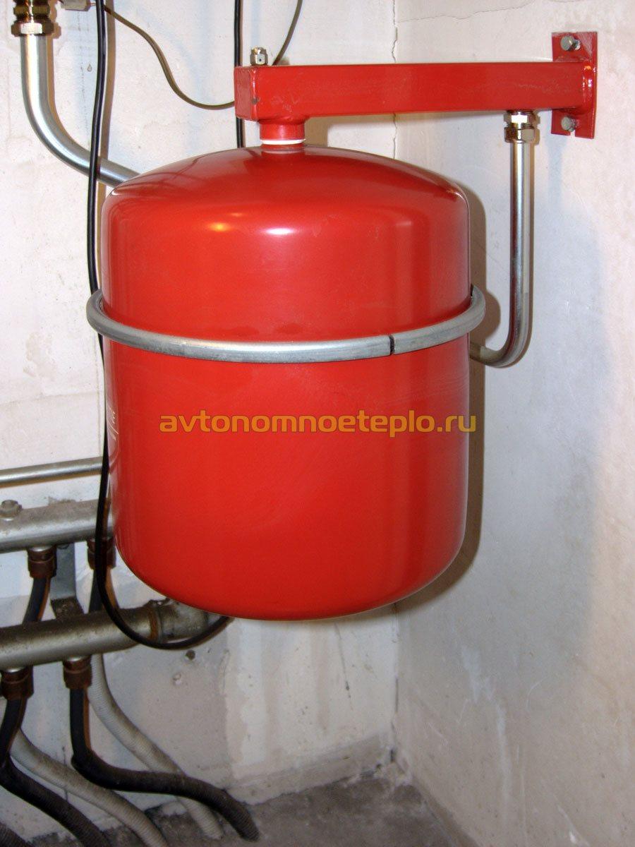 Расширительный мембранный бак для отопления