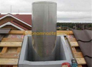 Как установить трубу на крыше: основные этапы, нюансы
