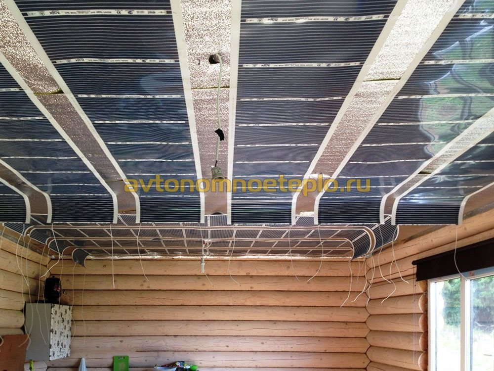 Электрический теплый пол на стену