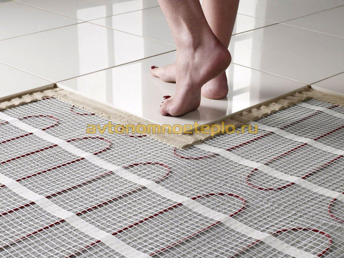 Как своими руками смонтировать теплый электрический пол под плитку – выбор системы обогрева и технология укладки