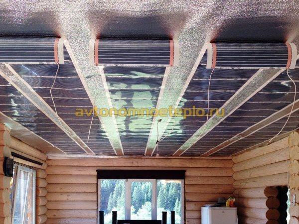 Как сделать тёплые потолки 423