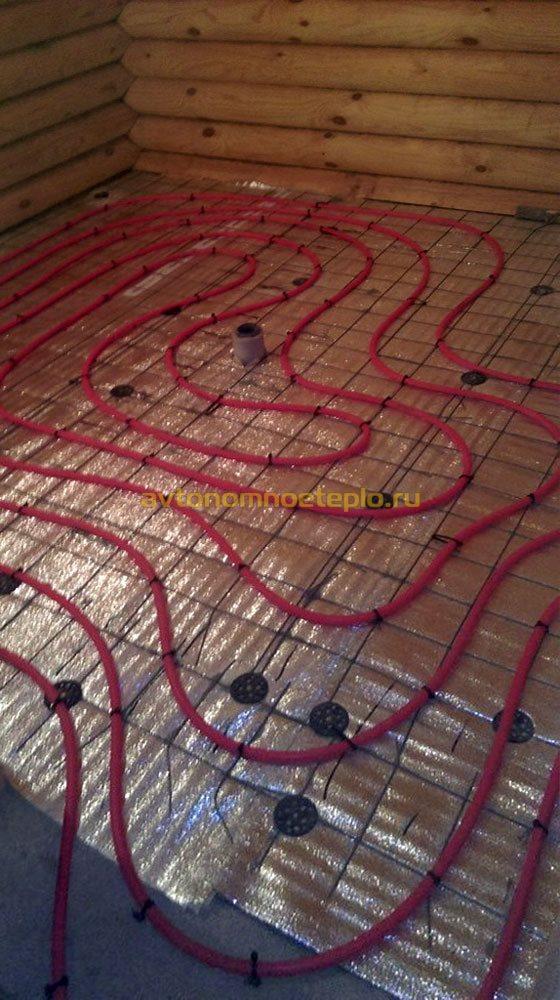 Как сделать теплый пол электрический кабельный своими руками 41