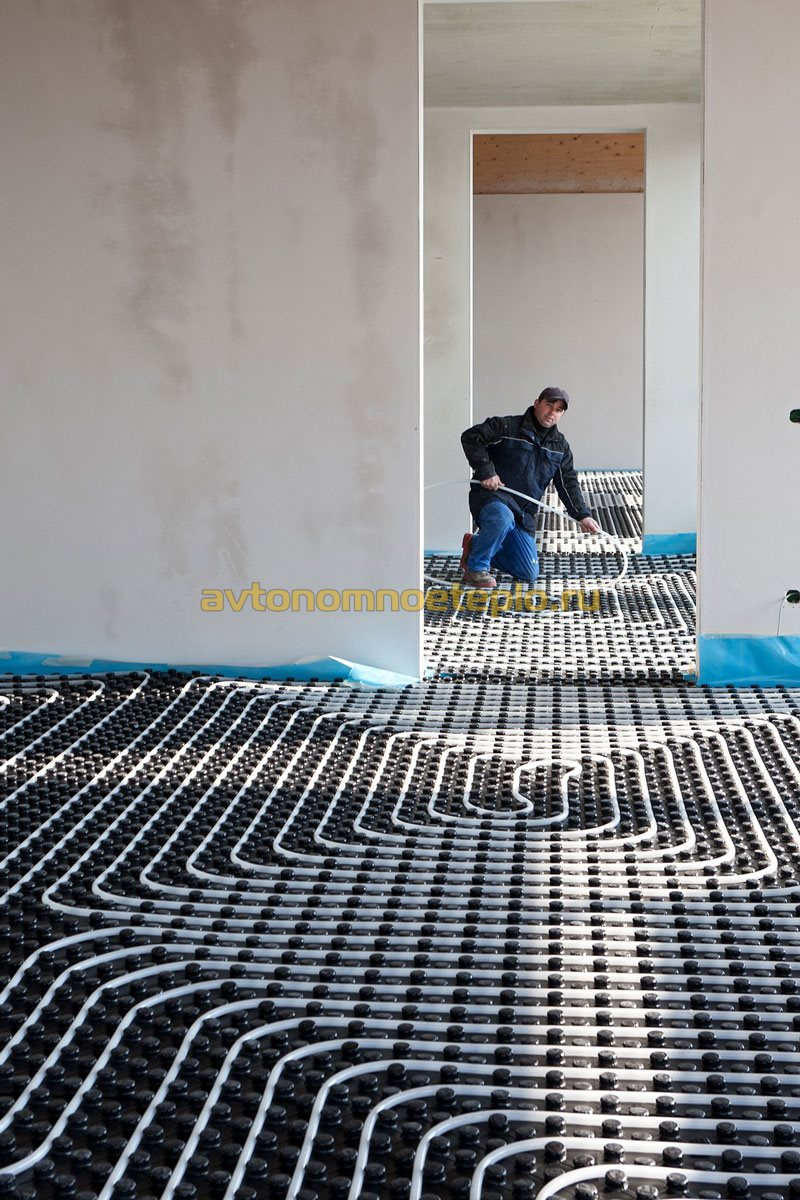 инструкция монтажника по теплому водяному полу