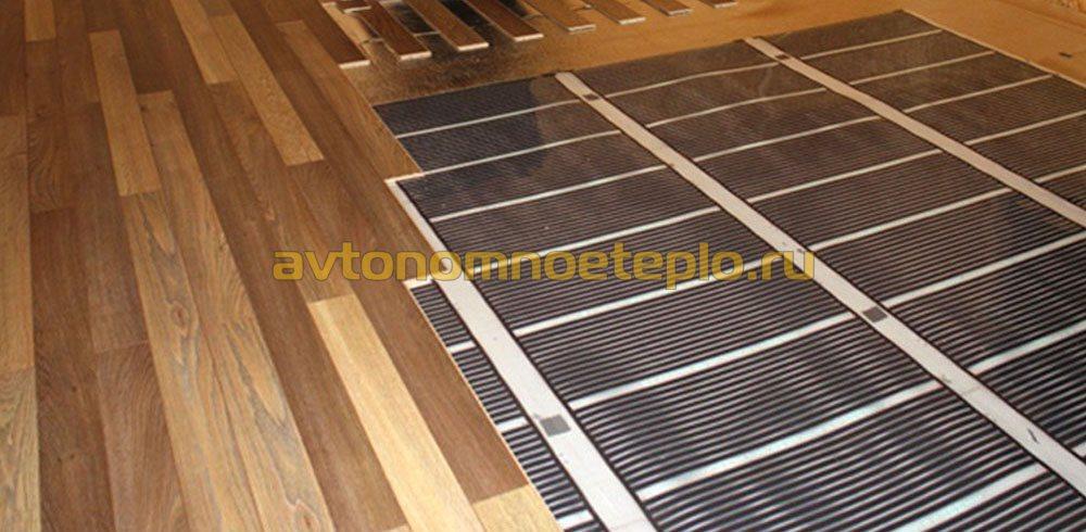 инфракрасный теплый пол в деревянном доме особенности ик обогрева