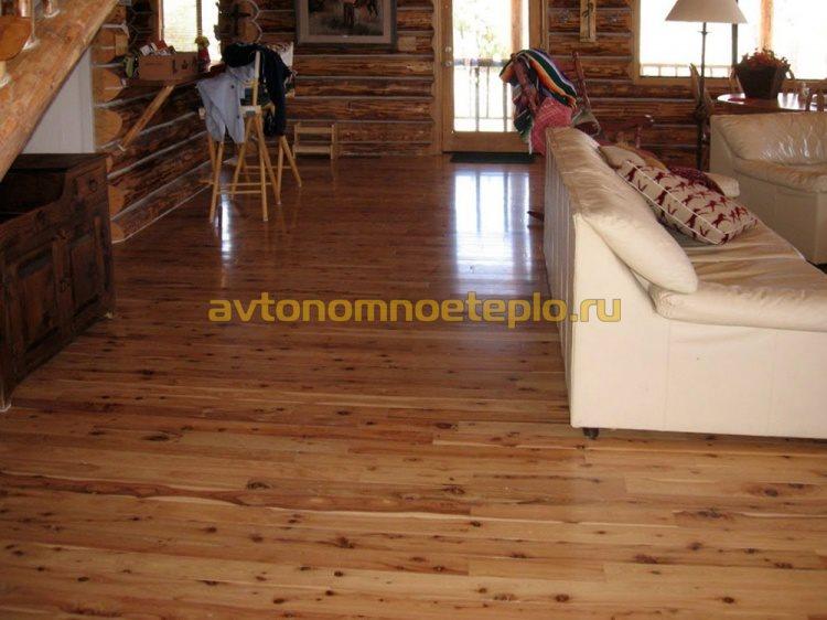 Укладка водяных теплых полов на деревянный пол