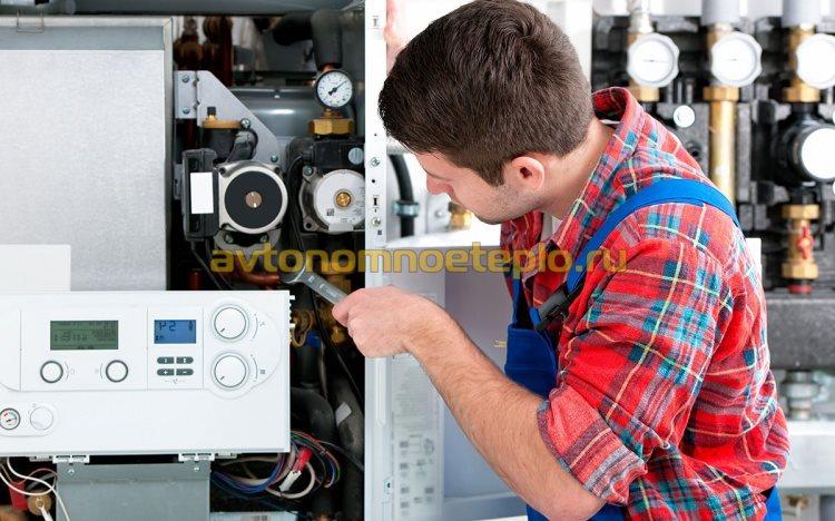 регулировка газового котла для работы на газобаллонном оборудование