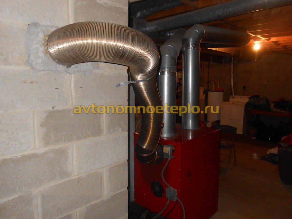 Дымоходы из алюминия для газовых колонок заделать трубу дымохода в бане на крыше