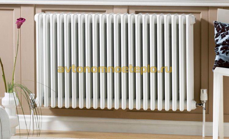 Как выбрать радиаторы к автономной системе отопления