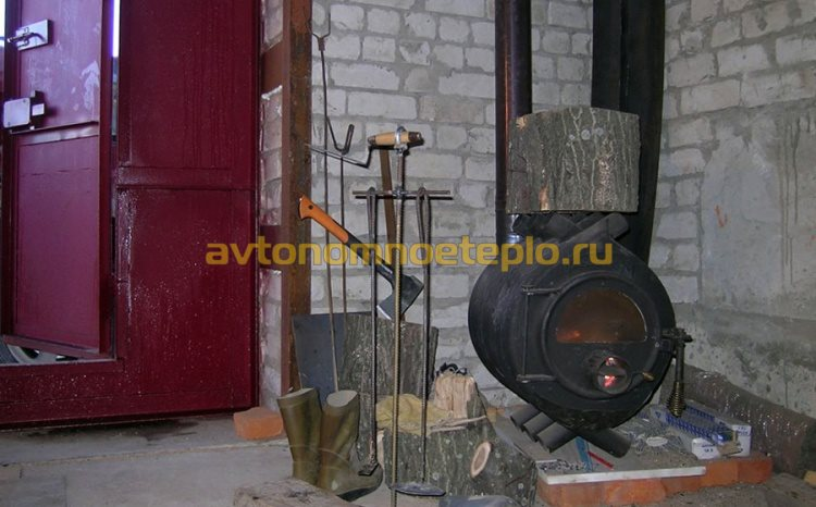 Как сделать печь из булерьяна 228