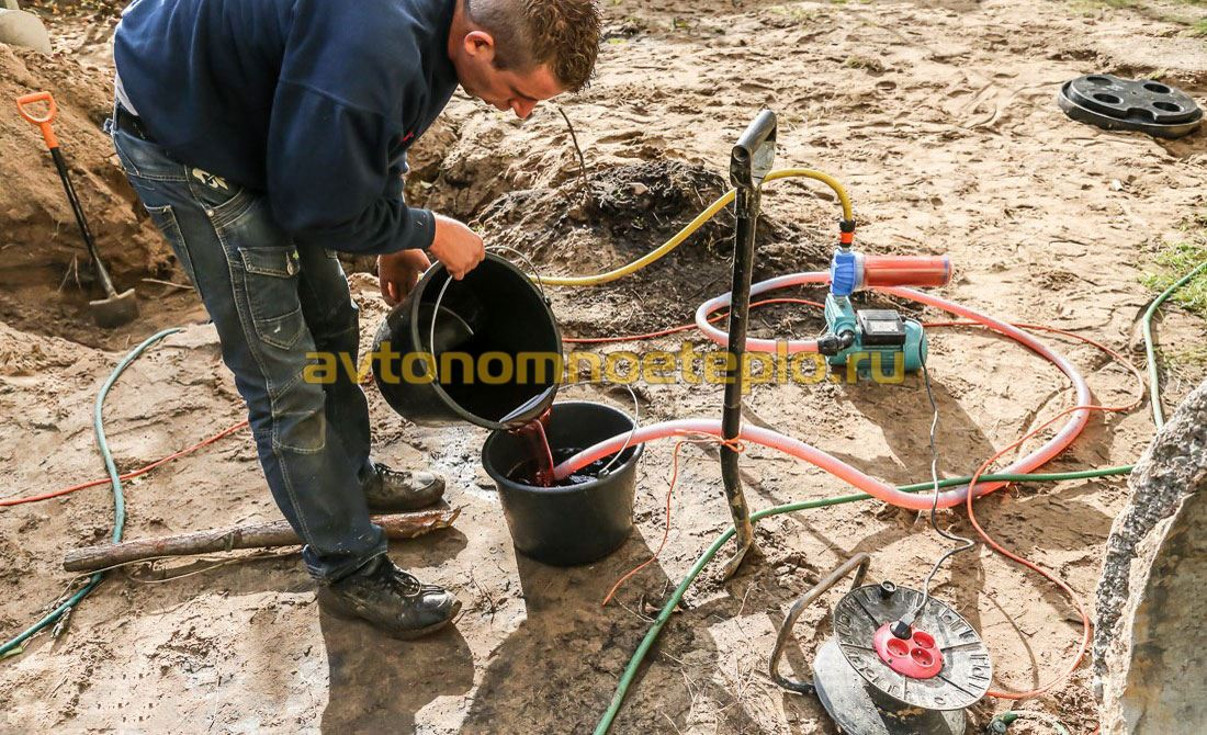 Скважина для теплового насоса - виды, глубина бурения, количество и срок службы