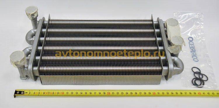 Материал для теплообменников в котлах baxi Кожухотрубный испаритель Alfa Laval DEQ 860 Серов
