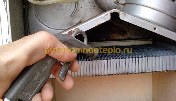 Какое средство для промывки теплообменника котла лучше?