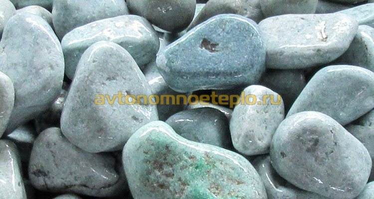 Как укладывать камни в банную печь