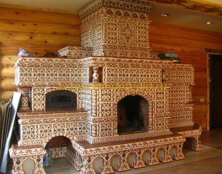 Можно ли обложить печь керамической плиткой