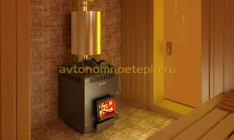 Как установить теплообменник на банную печь — Печи и камины