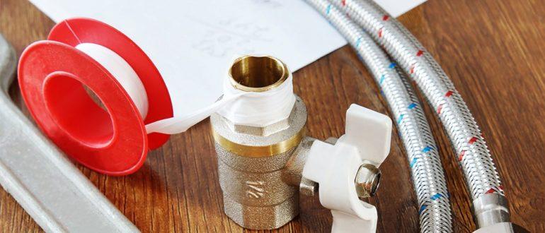 особенности применения уплотнительной фторопластовой ленты