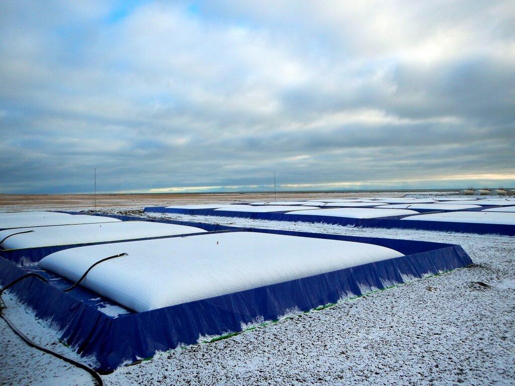 эластичные резервуары для нефтепродуктов