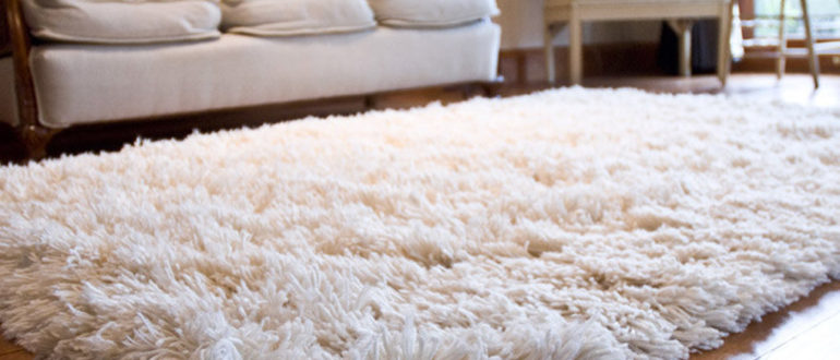 Виды длинноворсовых ковров