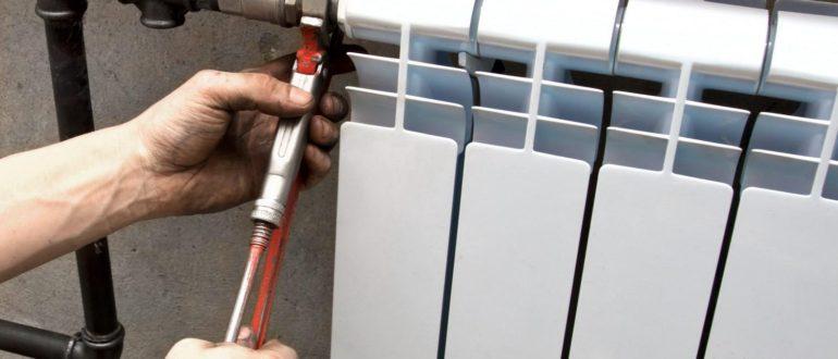 Как производится монтаж радиаторов отопления