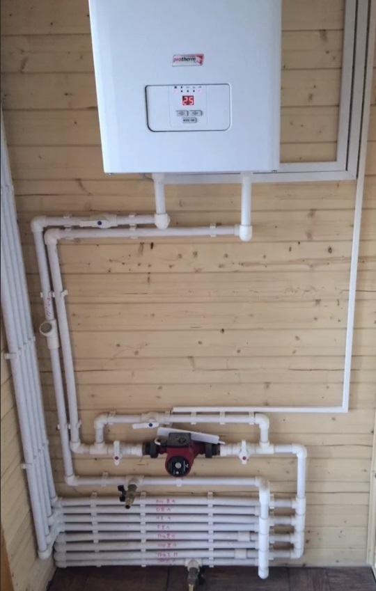 Система отопления частного дома