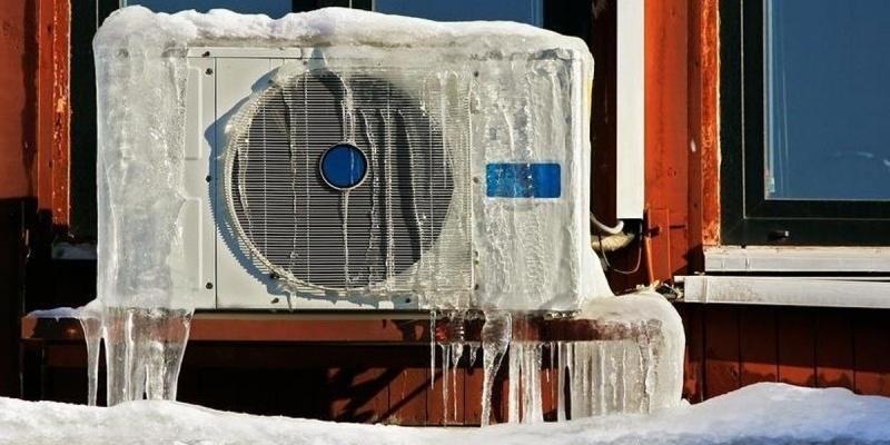 Отопление дома кондиционером