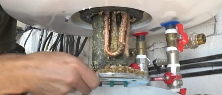Вода в бойлере пахнет сероводородом