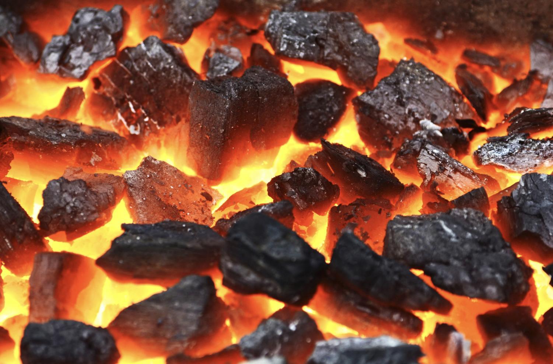 Горение угля