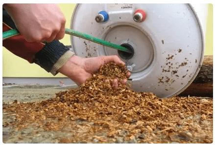 Очищение бака от накипи