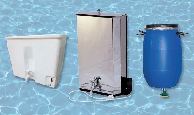 Проточный водонагреватель для дачи