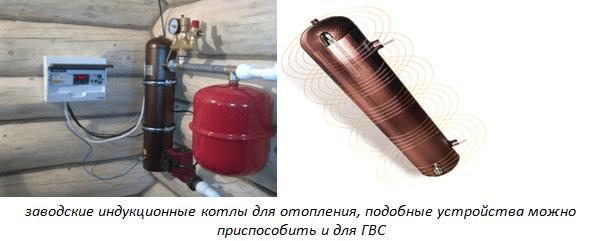 Заводские и индукционные котлы для отопления