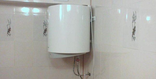 Крепление водонагревателя на стену