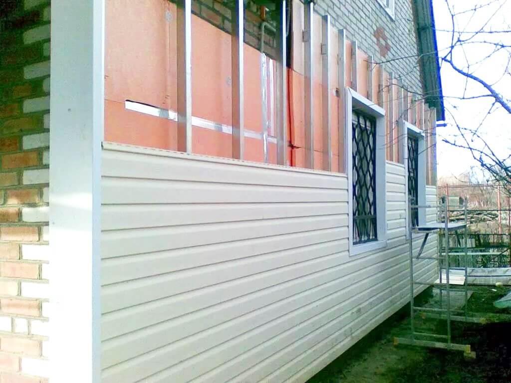 Применение пеноплекса для утепления стен под сайдинг